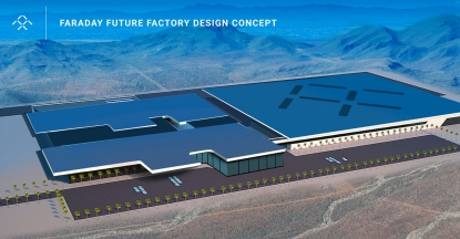 Faraday Future Factory Design